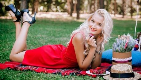 Lena von Lutsk 24 jahre - sonniges Lächeln. My mitte primäre foto.