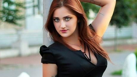 Helen von Zaporozhye 24 jahre - ukrainische Frau. My mitte primäre foto.