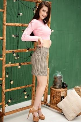 Juliana von Zaporozhye 25 jahre - sonniges Lächeln. My wenig primäre foto.