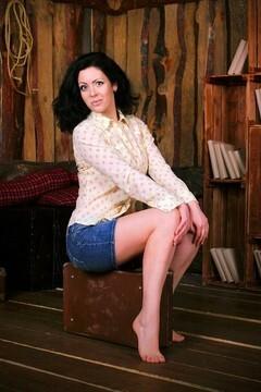 Olya von Zaporozhye 36 jahre - ukrainische Braut. My mitte primäre foto.