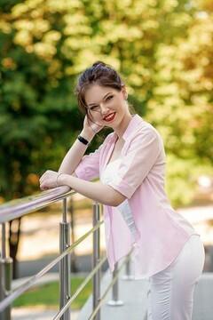 Olya von Dnipro 25 jahre - zukünftige Frau. My mitte primäre foto.