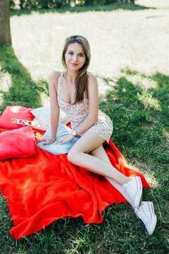 Diana von Cherkasy 20 jahre - auf einem Sommer-Ausflug. My mitte primäre foto.