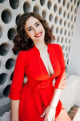 Natalia von Cherkasy 22 jahre - sie lächelt dich an. My wenig primäre foto.