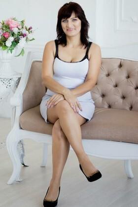 Valentina  46 jahre - intelligente Frau. My wenig primäre foto.