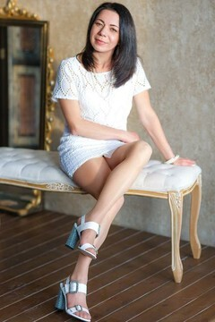 Olga von Dnipro 50 jahre - Handlanger. My mitte primäre foto.