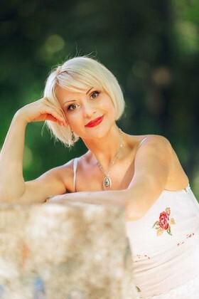 Nataliya von Poltava 43 jahre - sonniges Lächeln. My wenig primäre foto.