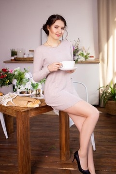 Margo von Dnipro 22 jahre - ukrainische Frau. My wenig primäre foto.