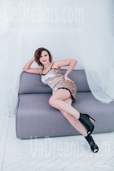 Anna from Cherkasy 38 years - Warm-hearted girl. My small public photo.
