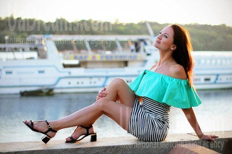 Dashenka von Zaporozhye 37 jahre - romatische Frau. My wenig öffentliches foto.