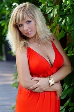 Elena from Kharkov 40 years - smiling for you. My small primary photo.