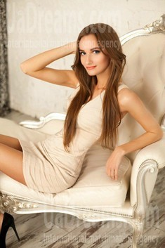 Nastya von Kiev 28 jahre - ukrainische Braut. My wenig öffentliches foto.