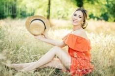 Alina von Zaporozhye 37 jahre - ukrainisches Mädchen. My wenig öffentliches foto.
