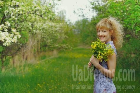 Natasha von Zaporozhye 44 jahre - sonniges Lächeln. My wenig öffentliches foto.