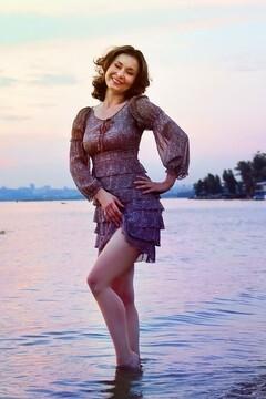 Tatyana from Zaporozhye 41 years - creative image. My small primary photo.