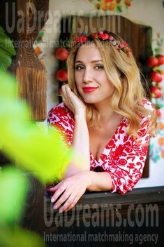 Alena von Zaporozhye 41 jahre - eine Braut suchen. My wenig öffentliches foto.