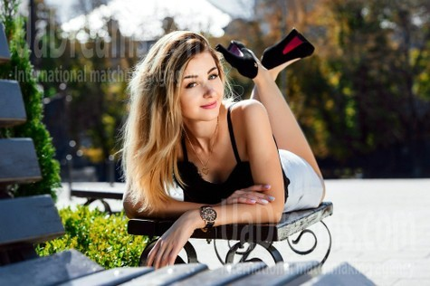 Anna von Cherkasy 21 jahre - ukrainische Braut. My wenig öffentliches foto.