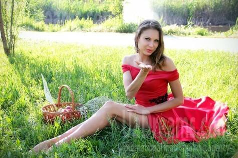 Ekaterina von Zaporozhye 28 jahre - sonniges Lächeln. My wenig öffentliches foto.