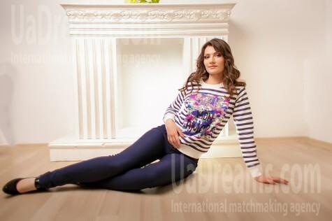 Kseniya von Dnipro 31 jahre - ukrainische Frau. My wenig öffentliches foto.