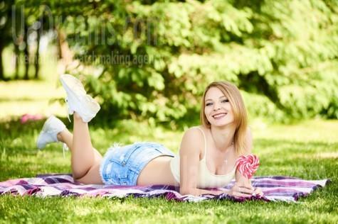 Ulyana von Ivano-Frankovsk 23 jahre - single Frau. My wenig öffentliches foto.