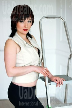 Anna von Zaporozhye 31 jahre - single Frau. My wenig öffentliches foto.