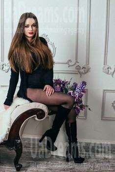Polina von Dnipro 26 jahre - single Frau. My wenig öffentliches foto.