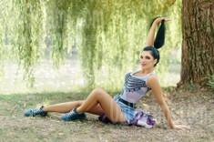 Olia von Ivanofrankovsk 23 jahre - herzenswarme Frau. My wenig öffentliches foto.