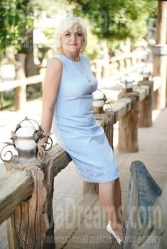 Larisa 51 jahre - strahlendes Lächeln. My wenig öffentliches foto.