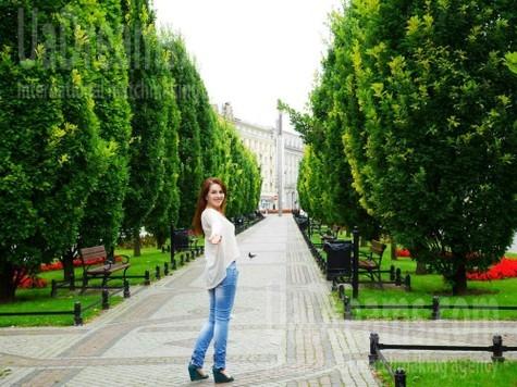 Ivanka von Lviv 33 jahre - single Frau. My wenig öffentliches foto.