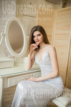 Evgeniya von Dnipro 25 jahre - Frau für die Ehe. My wenig öffentliches foto.