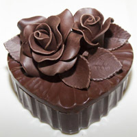 20 Minuten Videochats + Herz aus Schokolade. Shop in Ukrainian Marriage Agency.