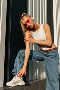 Alena von Poltava 27 jahre - sie lächelt dich an. My mitte primäre foto.