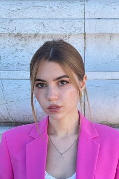 Alina von Kiev 20 jahre - sie lächelt dich an. My mitte primäre foto.