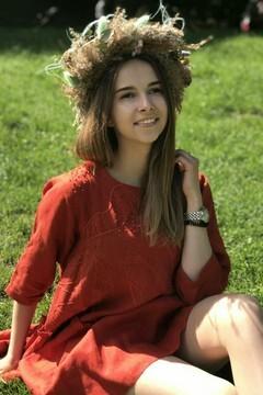 Olya von Lviv 24 jahre - romantisches Mädchen. My mitte primäre foto.