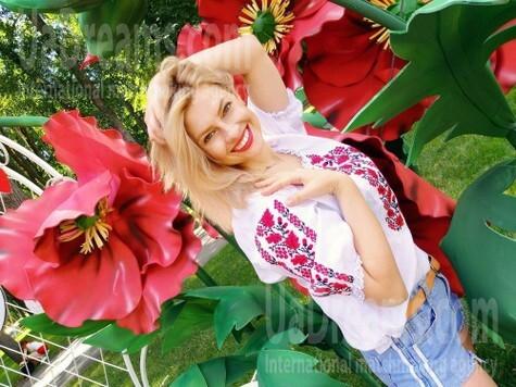 Maria von Kharkov 32 jahre - strahlendes Lächeln. My wenig öffentliches foto.