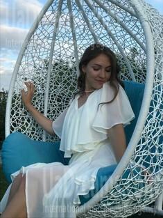 Karina von Cherkasy 24 jahre - single Frau. My wenig öffentliches foto.