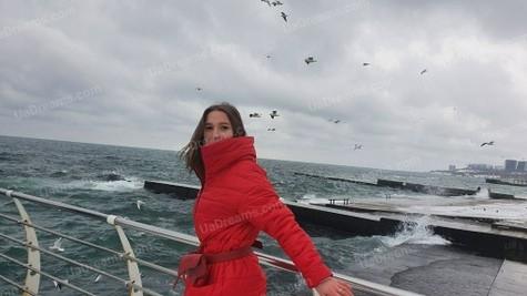 Alina 25 jahre - ukrainische Braut. My wenig öffentliches foto.