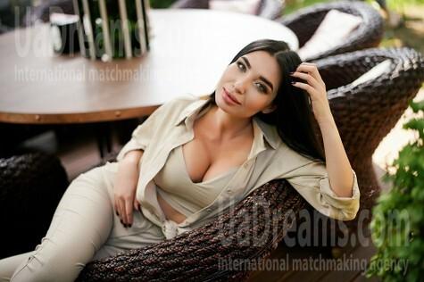 Eugeniya 23 jahre - strahlendes Lächeln. My wenig öffentliches foto.