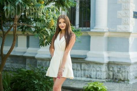 Lenochka von Sumy 25 jahre - hübsche Frau. My wenig öffentliches foto.