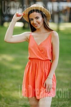 Oksana von Poltava 25 jahre - glückliche Frau. My wenig öffentliches foto.
