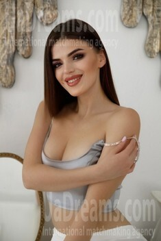 Marta von Ivano-Frankovsk 21 jahre - strahlendes Lächeln. My wenig öffentliches foto.