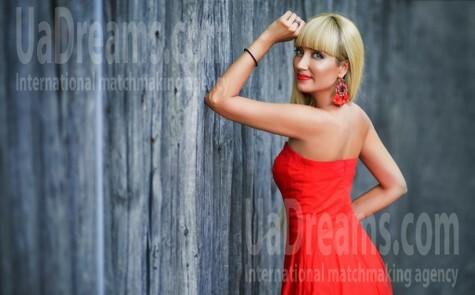 Tanya von Zaporozhye 41 jahre - sonnigen Tag. My wenig öffentliches foto.